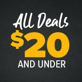 All Deals $20 and Under