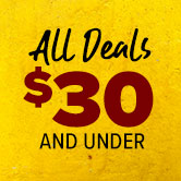 All Deals $30 and Under