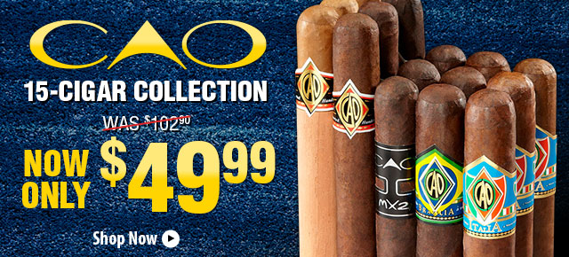 CAO 15-Cigar Collection Now Only $49.99!