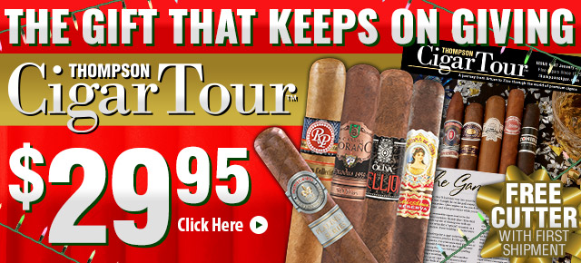 Make Gifting Easy- Thompson Cigar Tour $29.95!