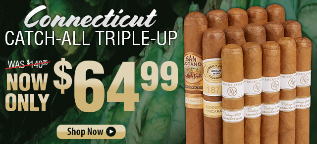 Connecticut Catch-All Triple Up Now Only $64.99!