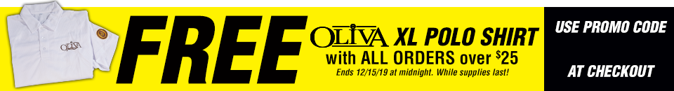 Free XL Oliva Polo When You Spend $25 or More!