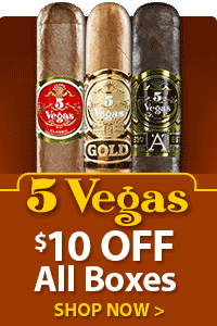 5 Vegas Boxes $10 OFF