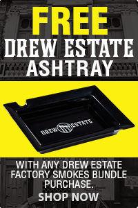 FREE ASHTRAY WITH DE FACTORY SMOKES PURCHASE