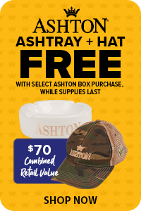 Ashton Ashtray & Hat FREE w/ Select Box Purchase