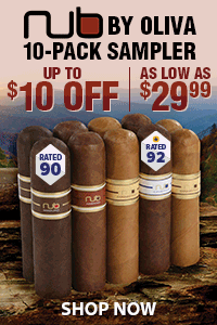 NUB by Oliva 10-Pack Sampler