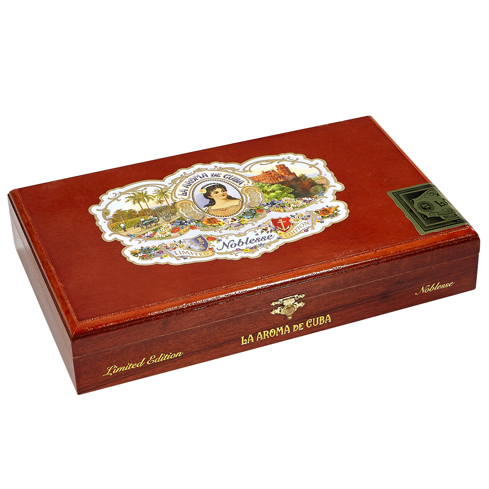 photo of La Aroma De Cuba Noblesse Coronation Rosado Double Corona - BOX (24) by Thompson Cigar