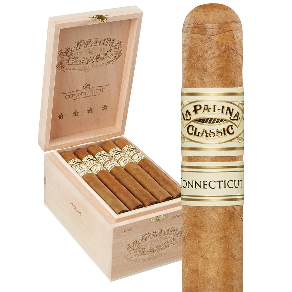photo of La Palina Classic Toro Connecticut - BOX (20) by Thompson Cigar