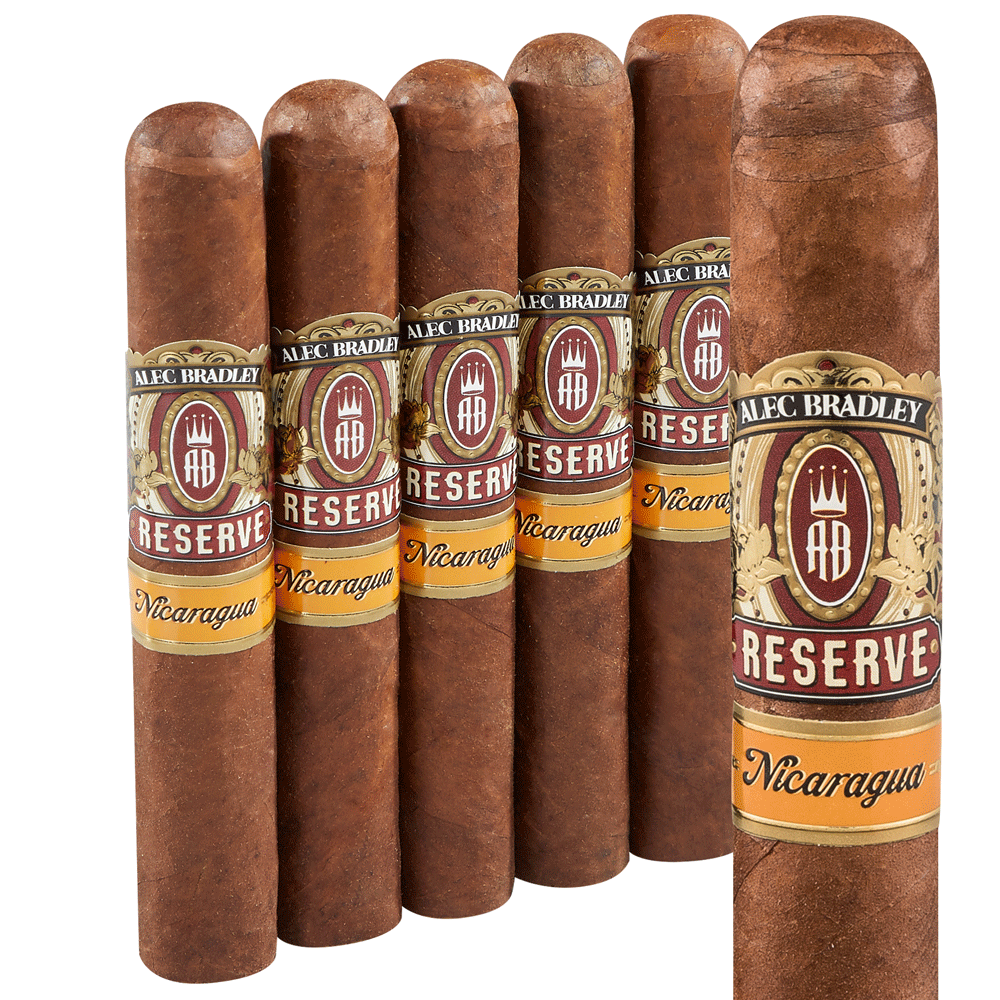 photo of Alec Bradley Reserve Robusto Nicaraguan 5 Pack - PACK (5) by Thompson Cigar