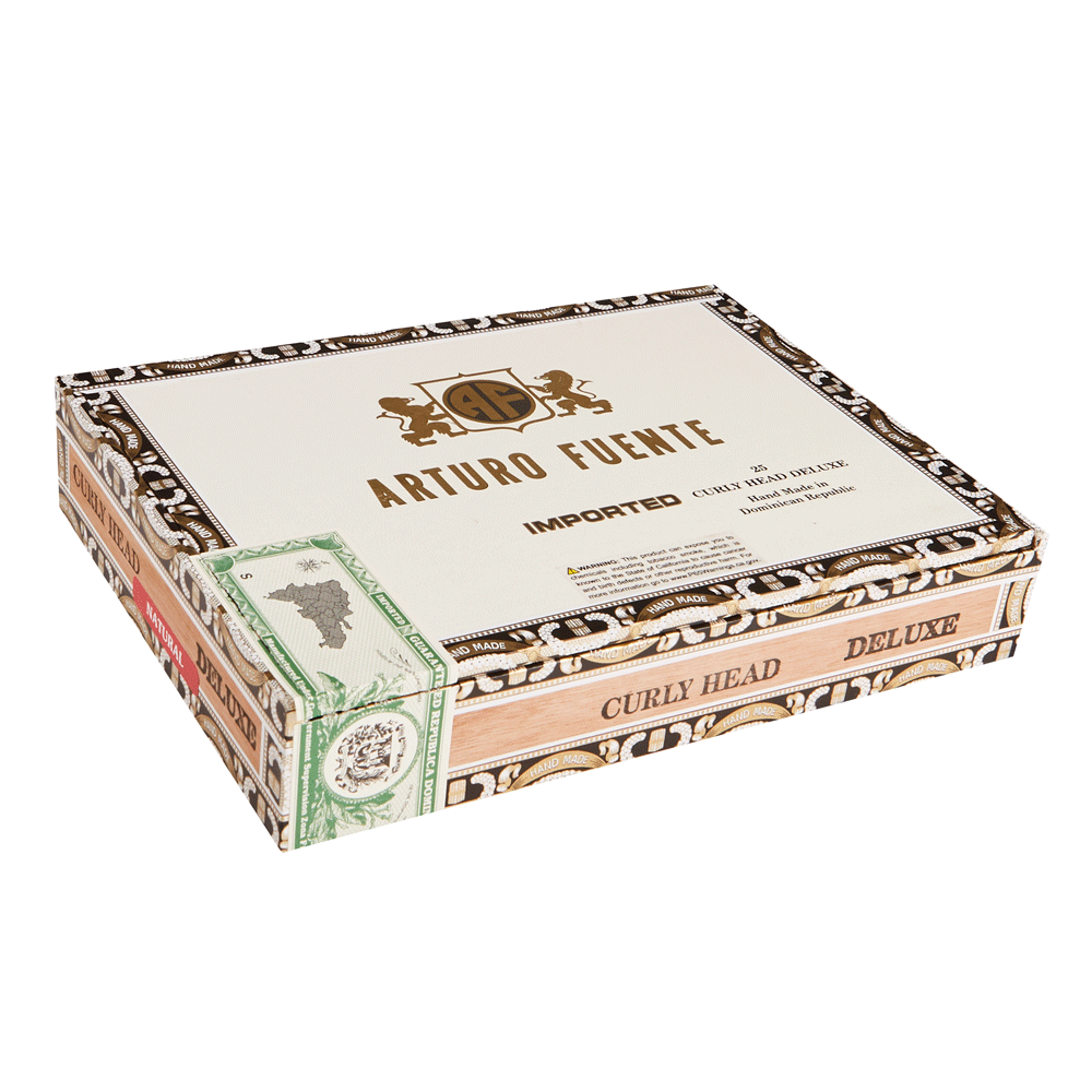 photo of Arturo Fuente Curly Head Deluxe Lonsdale Natural - BOX (25) by Thompson Cigar