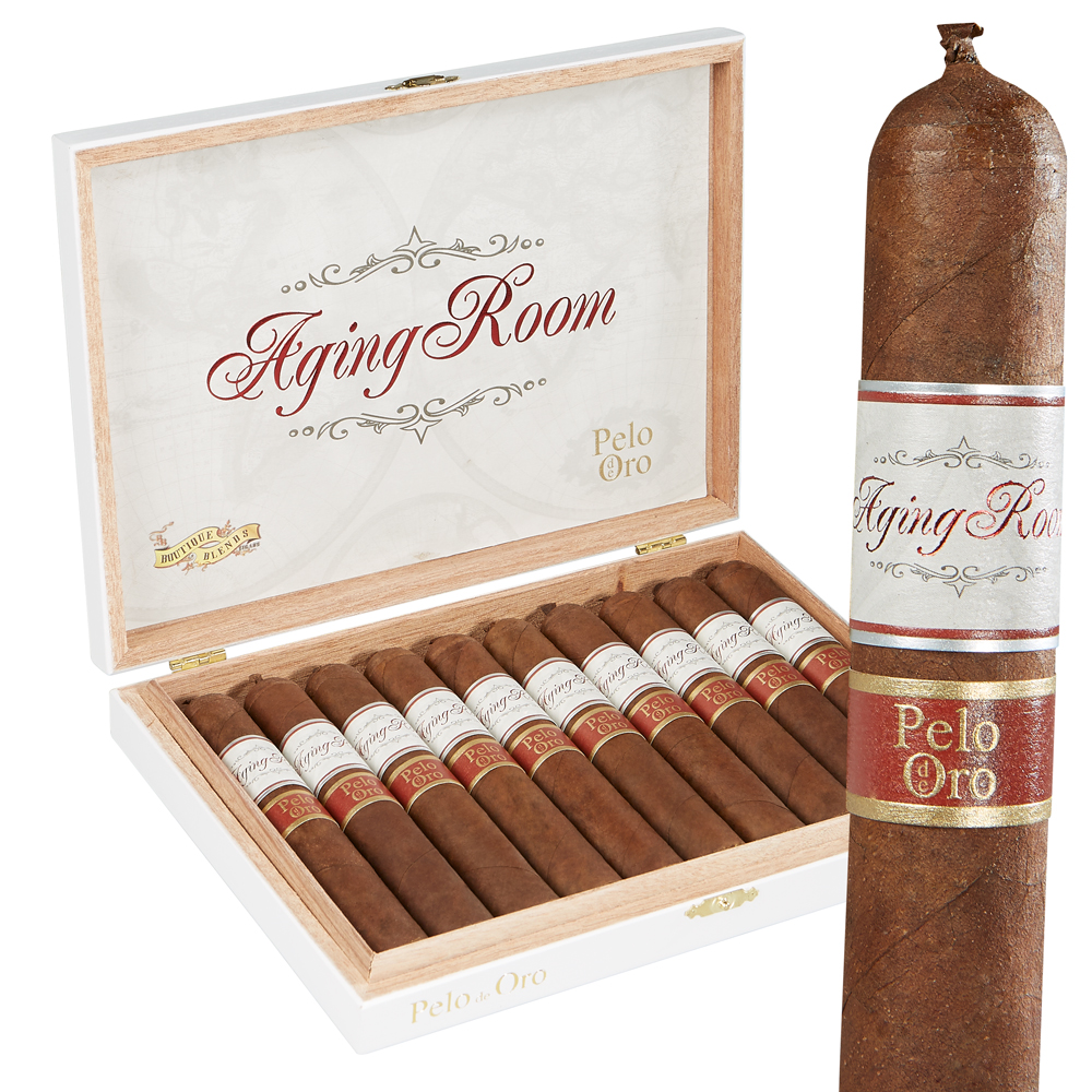 photo of Aging Room Pelo De Oro Robusto Grande Nicaraguan - BOX (10) by Thompson Cigar