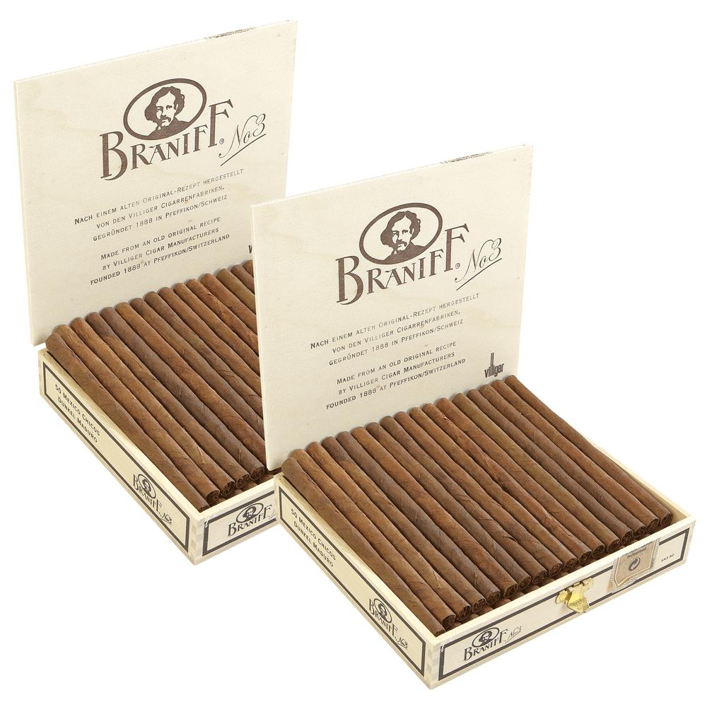 photo of Villiger Braniff No. 3 Chicos Maduro Cigarillo - BOX (100) by Thompson Cigar