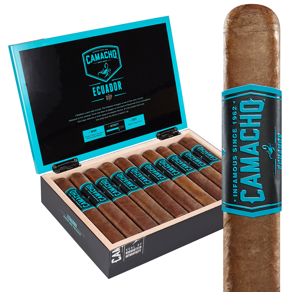 photo of Camacho Bxp Gordo Ecuador Box-Pressed - BOX (20) by Thompson Cigar