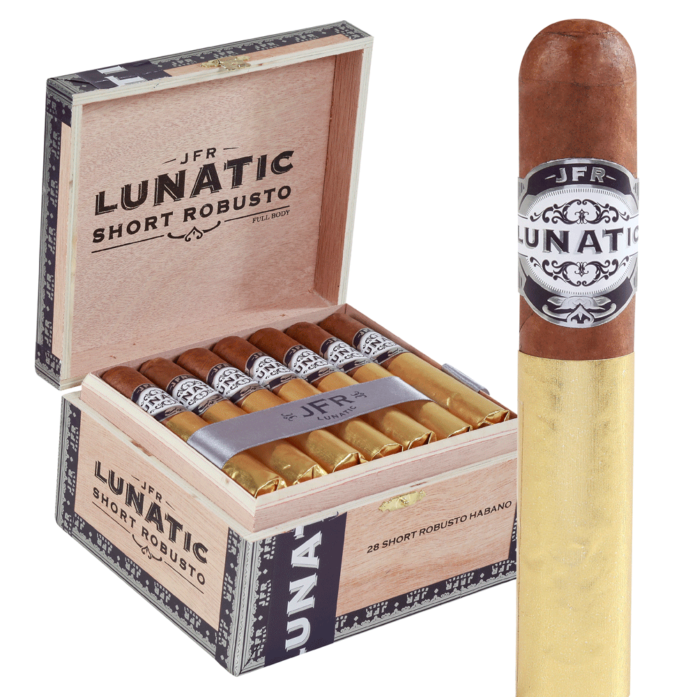 photo of J.F.R. Lunatic Habano Short Robusto - Box of 28 by Thompson Cigar