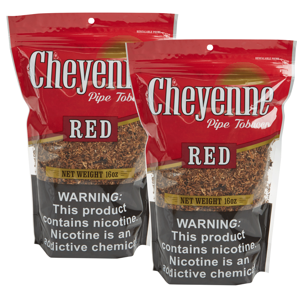 photo of Cheyenne Red Pipe Tobacco 16oz 2-Fer - 32 Ounce Bag [2/16] by Thompson Cigar