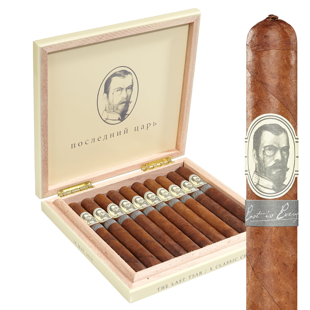 photo of Caldwell The Last Tsar Churchill Maduro - BOX (10) by Thompson Cigar