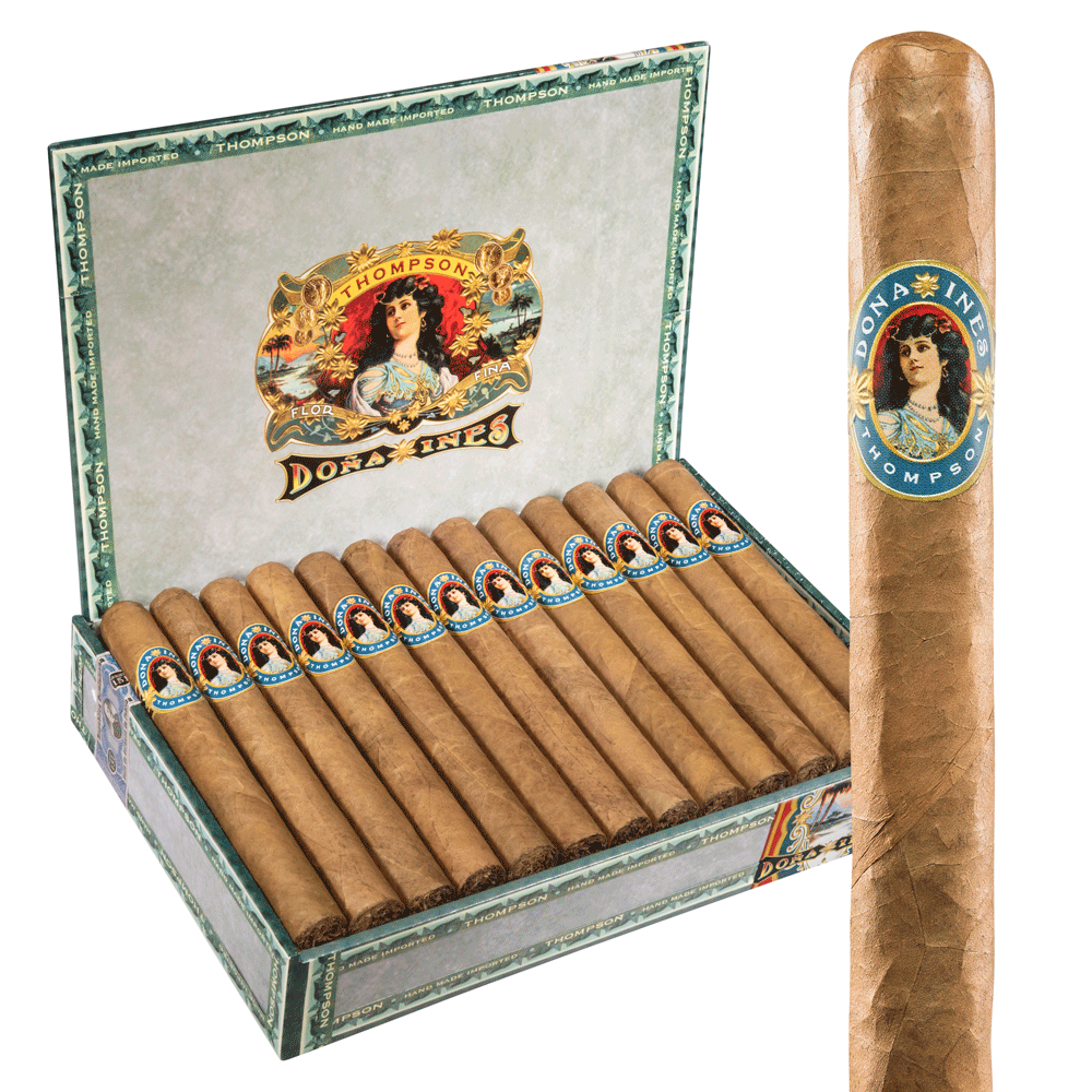 photo of Dona Ines Churchill Connecticut - BOX (25) by Thompson Cigar