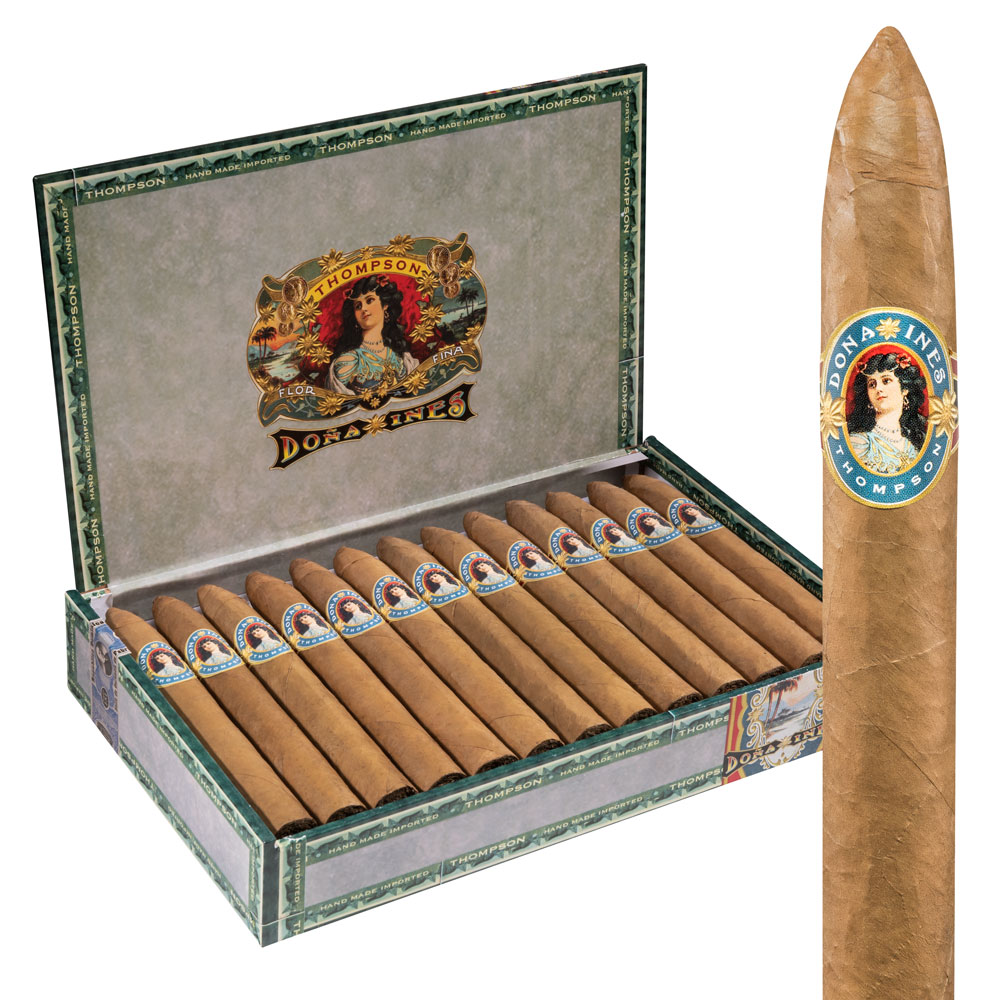 photo of Doña Ines Torpedo No. 2 Connecticut - BOX (25) by Thompson Cigar