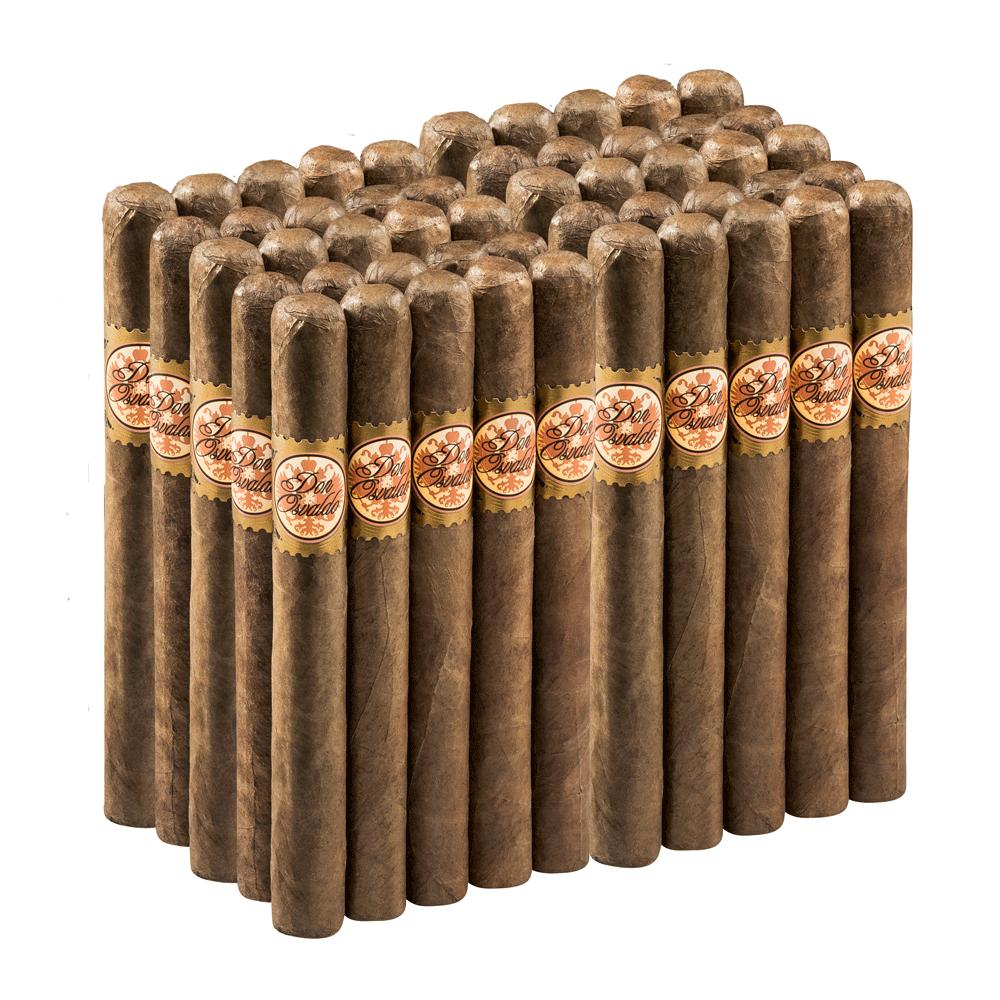photo of Don Osvaldo 50 Sumatra Churchill - BUNDLE (50) by Thompson Cigar