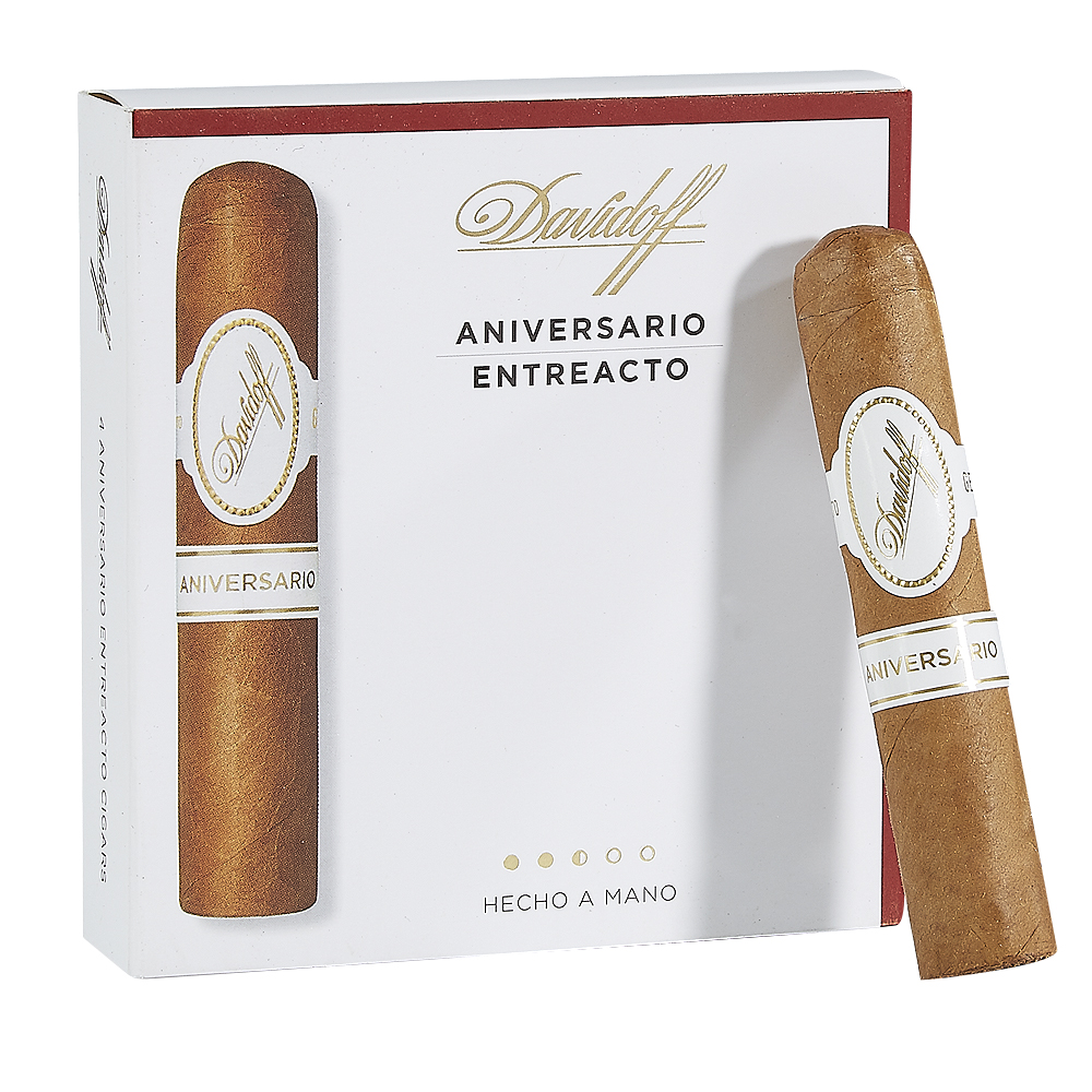 photo of Davidoff Special Series Entreacto Connecticut Petite Corona - PACK (4) by Thompson Cigar