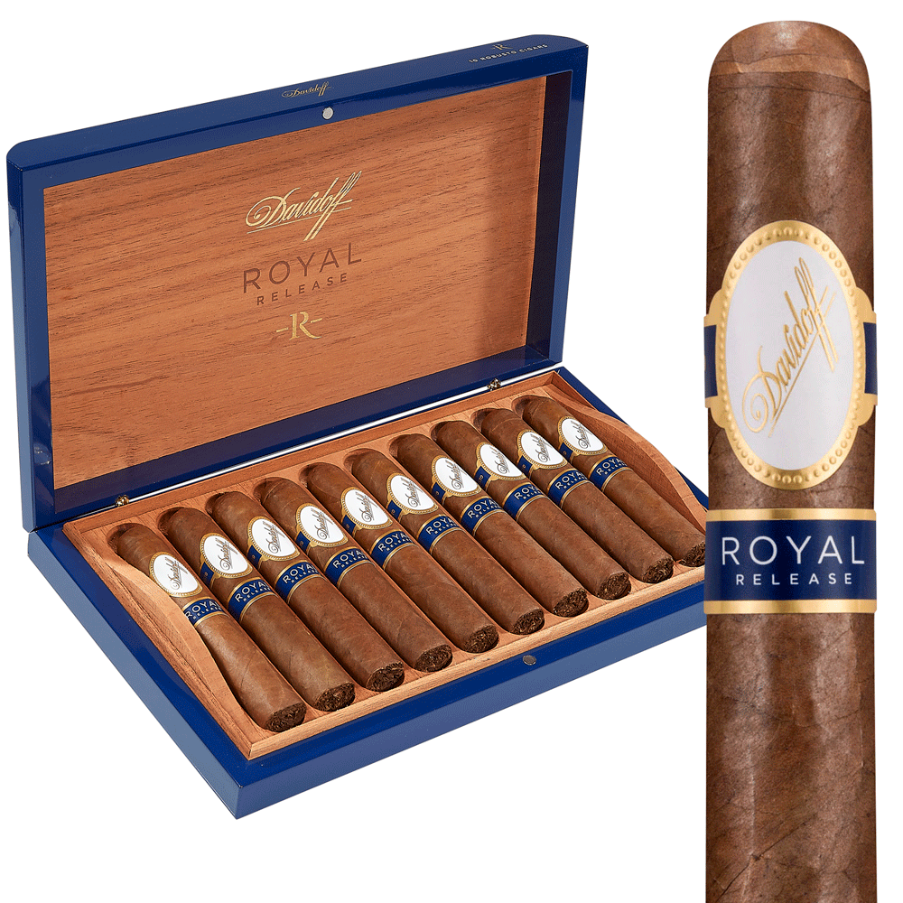 photo of Davidoff Royal Release Robusto Dominican - BOX (10) by Thompson Cigar