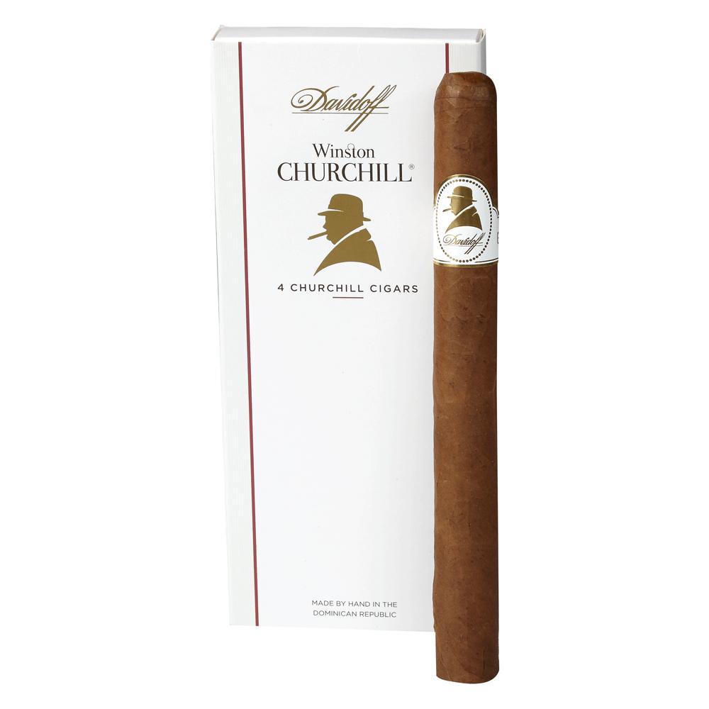 photo of Davidoff Winston Churchill Churchill Habano - PACK (4) by Thompson Cigar