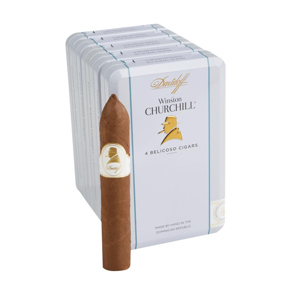 photo of Davidoff Winston Churchill Churchill Habano - PACK (20) by Thompson Cigar
