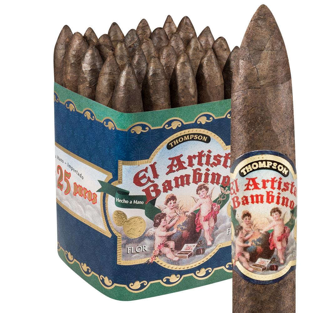 photo of El Artista Bambino Torpedo Maduro - PACK (25) by Thompson Cigar