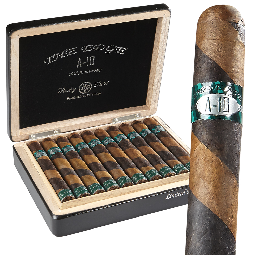 photo of Rocky Patel Edge A-10 Limited Edition Dual Wrapper Toro - BOX (20) by Thompson Cigar