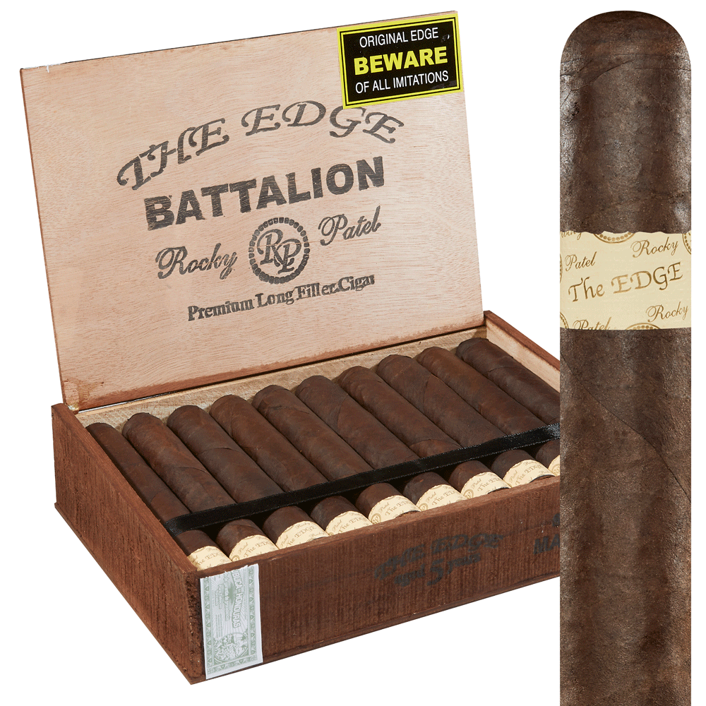 photo of Rocky Patel Edge Battalion Maduro Gordo - BOX (20) by Thompson Cigar