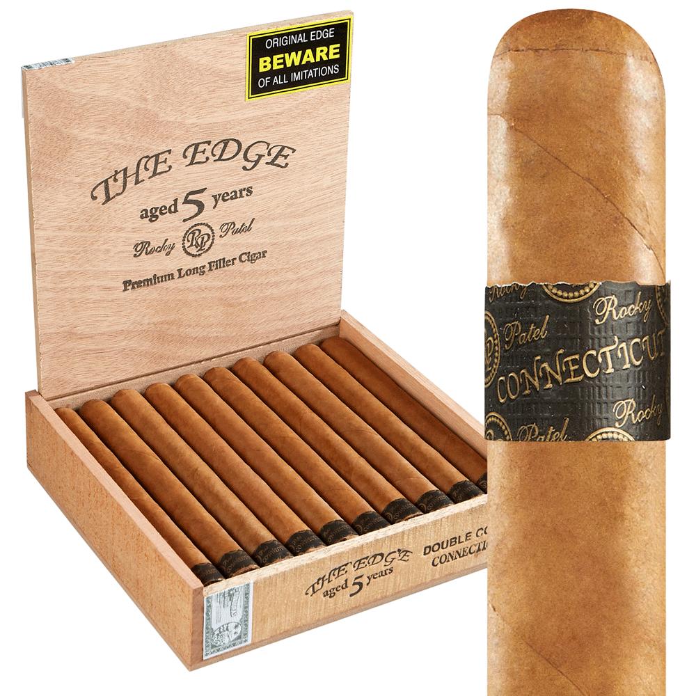 photo of Rocky Patel Edge Lite Double Corona Connecticut - BOX (20) by Thompson Cigar