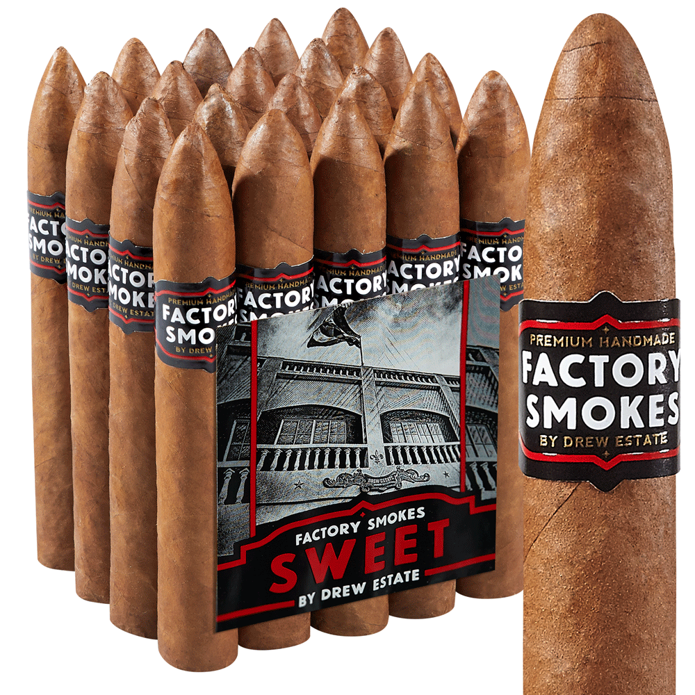 photo of Drew Estate Factory Smokes Belicoso Habano Sweet - PACK (20) by Thompson Cigar