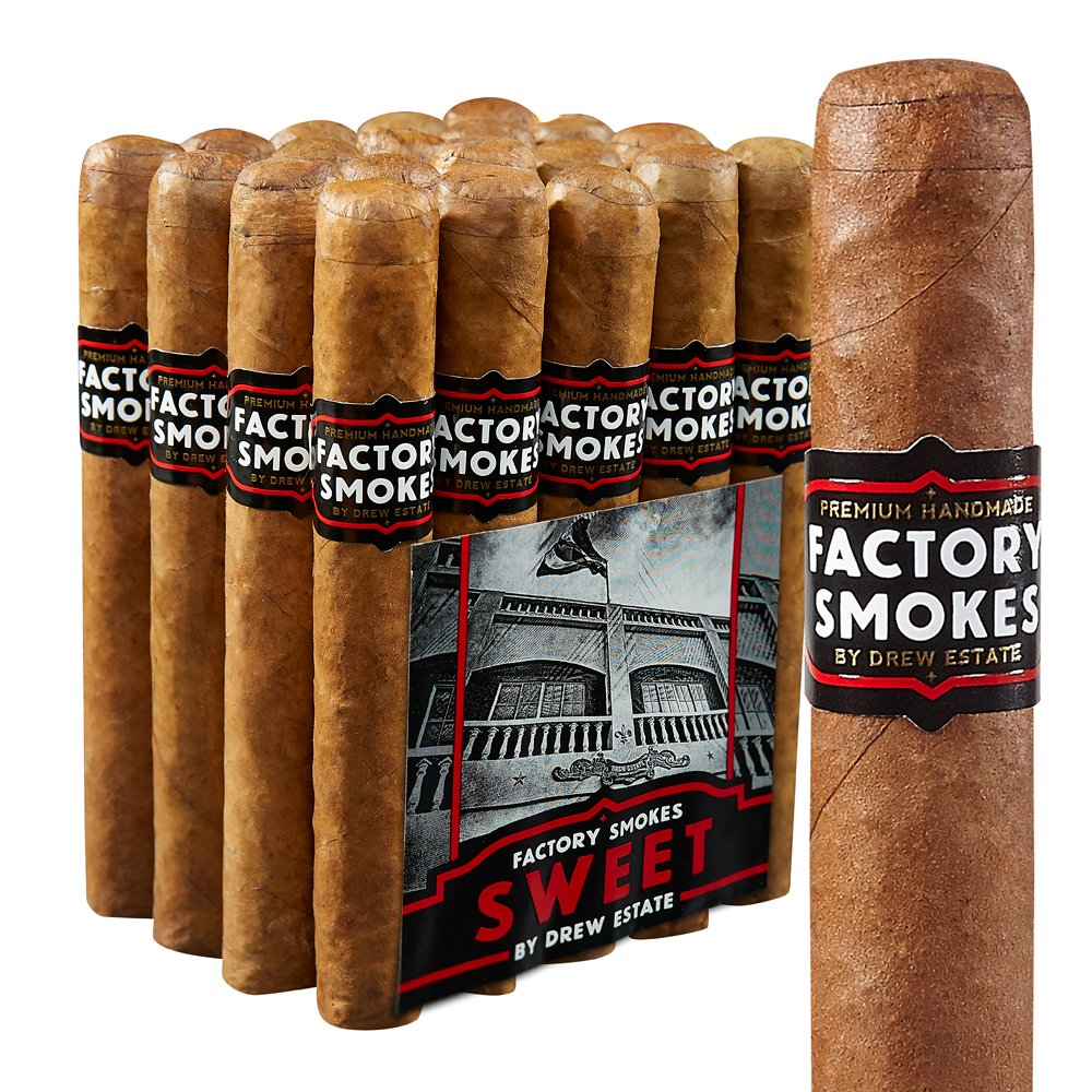 photo of Drew Estate Factory Smokes Toro Habano Sweet - PACK (20) by Thompson Cigar