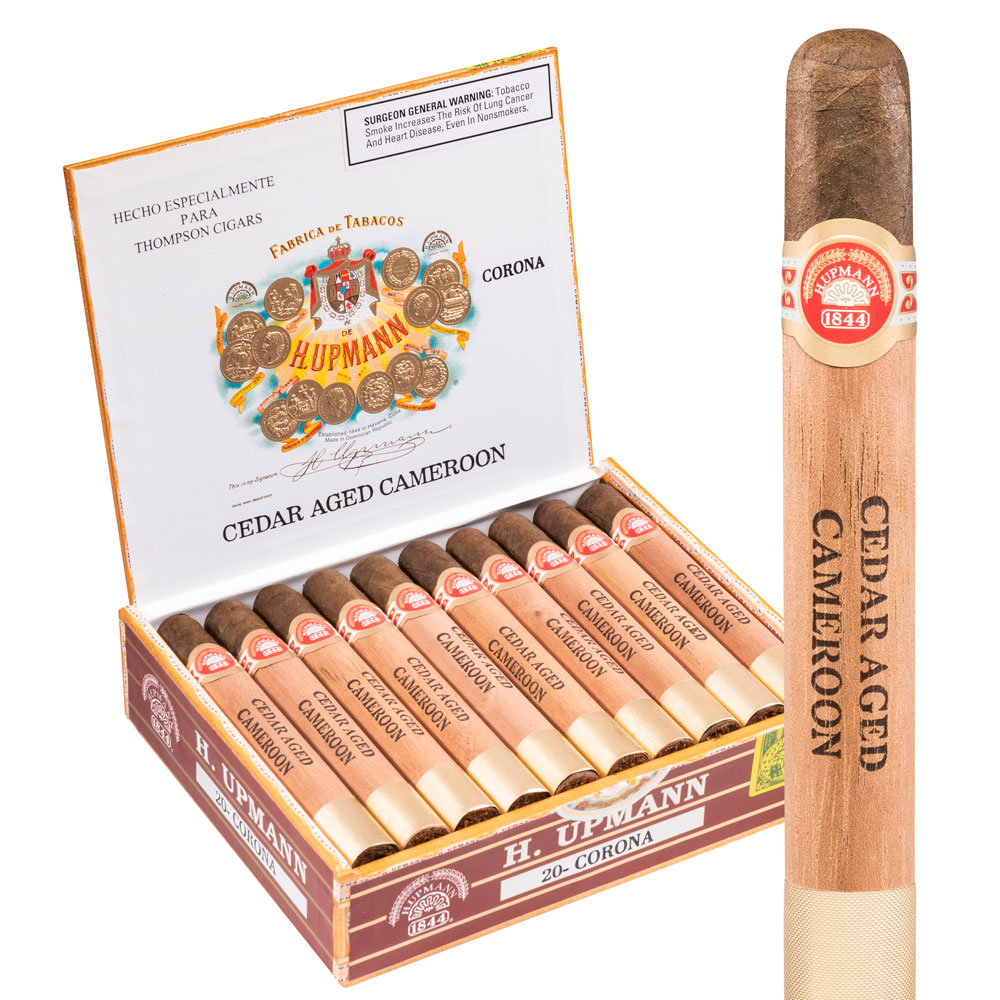 photo of H Upmann Cedar Aged Corona Cameroon - BOX (20) by Thompson Cigar