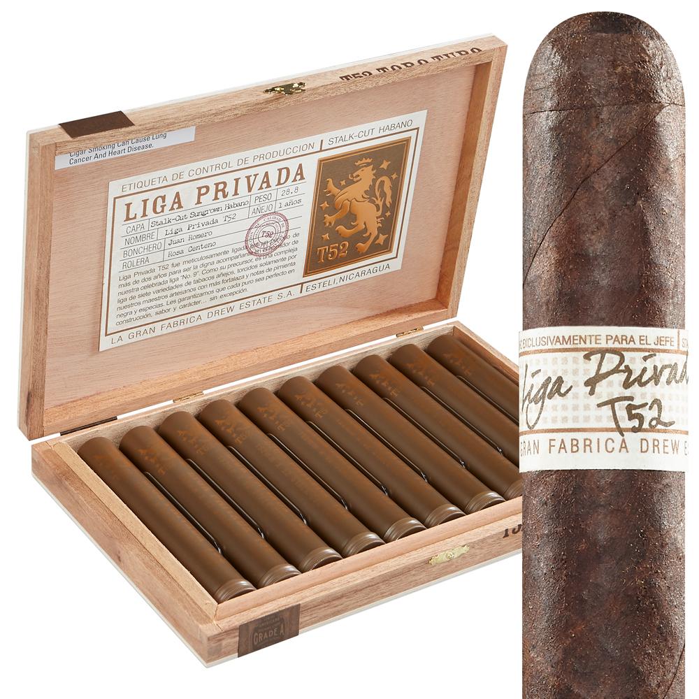 photo of Liga Privada T52 Tubo Habano Toro - BOX (10) by Thompson Cigar
