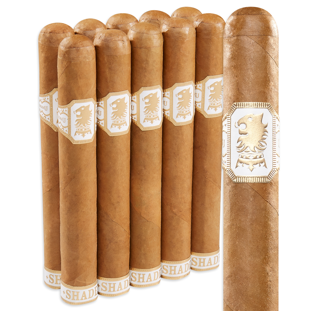 photo of Undercrown Shade By Drew Estate Gran Toro Connecticut 10 Pack - PACK (10) by Thompson Cigar