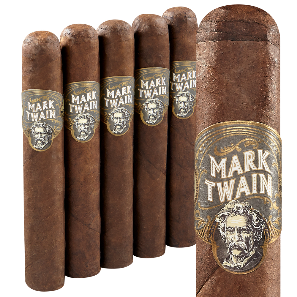 Mark Twain No. 2 Gordo Maduro - PACK (5) photo - CALIFORNIA SHEETS