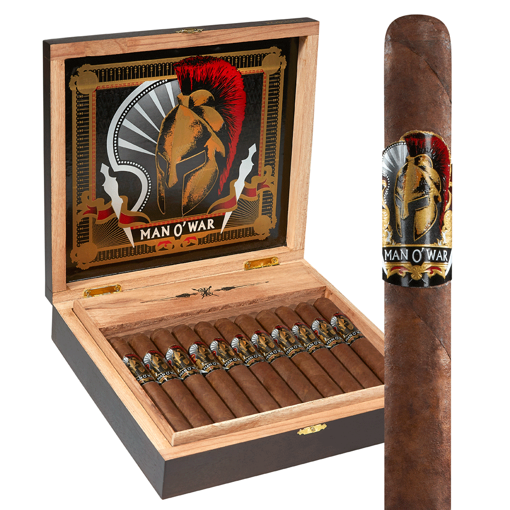 photo of Man O' War Robusto Habano - BOX (22) by Thompson Cigar
