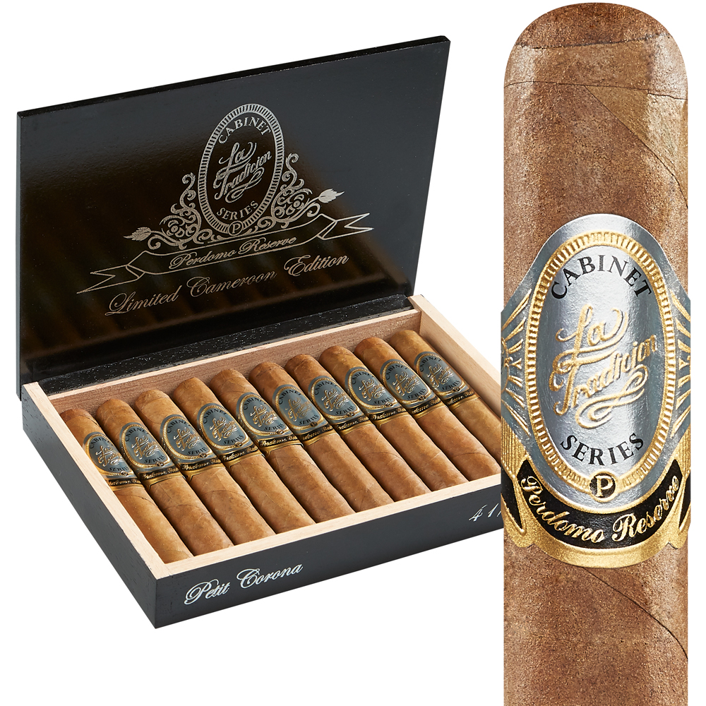 photo of Perdomo Reserve Limited Cameroon Edition Petite Corona - BOX (10) by Thompson Cigar