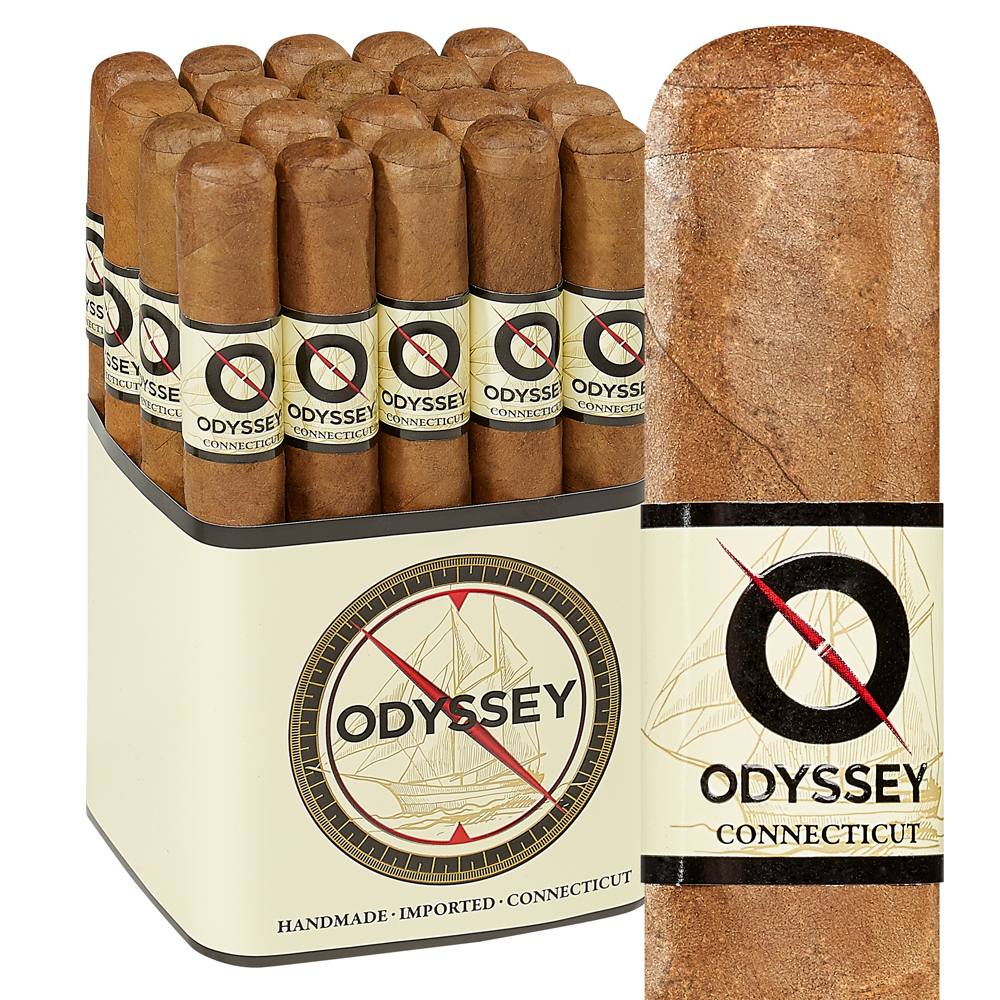photo of Odyssey Toro Connecticut - PACK (20) by Thompson Cigar