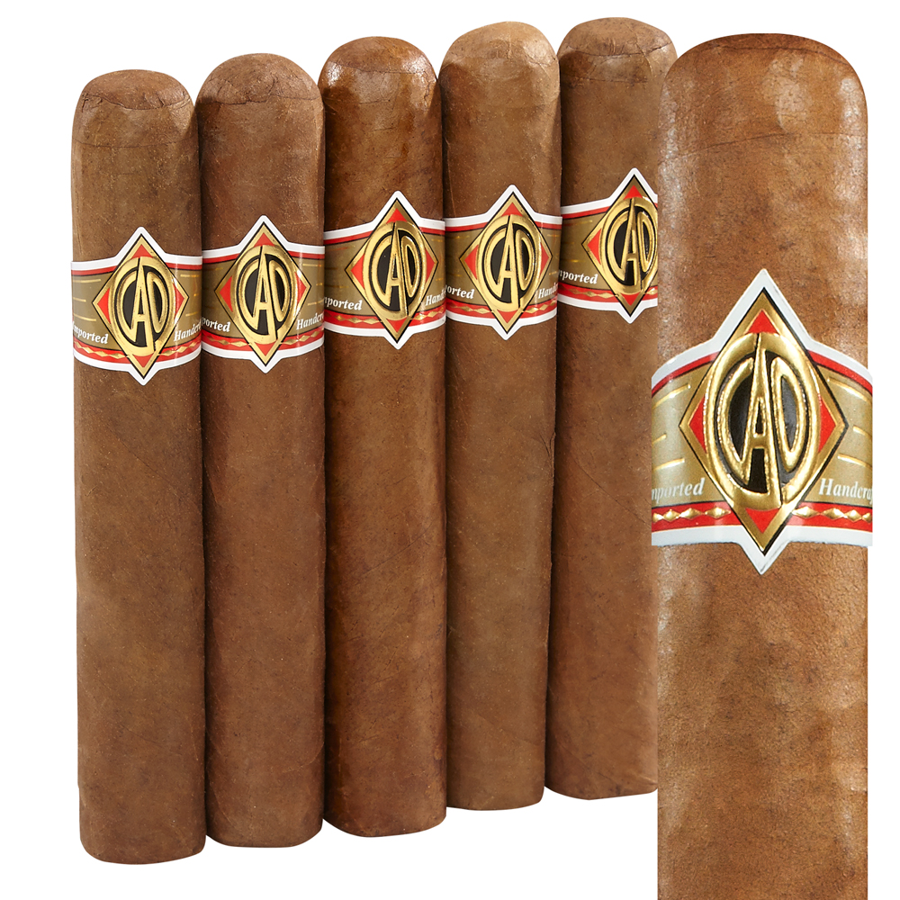 photo of CAO Gold Robusto Connecticut 5-Pack - PACK (5) by Thompson Cigar