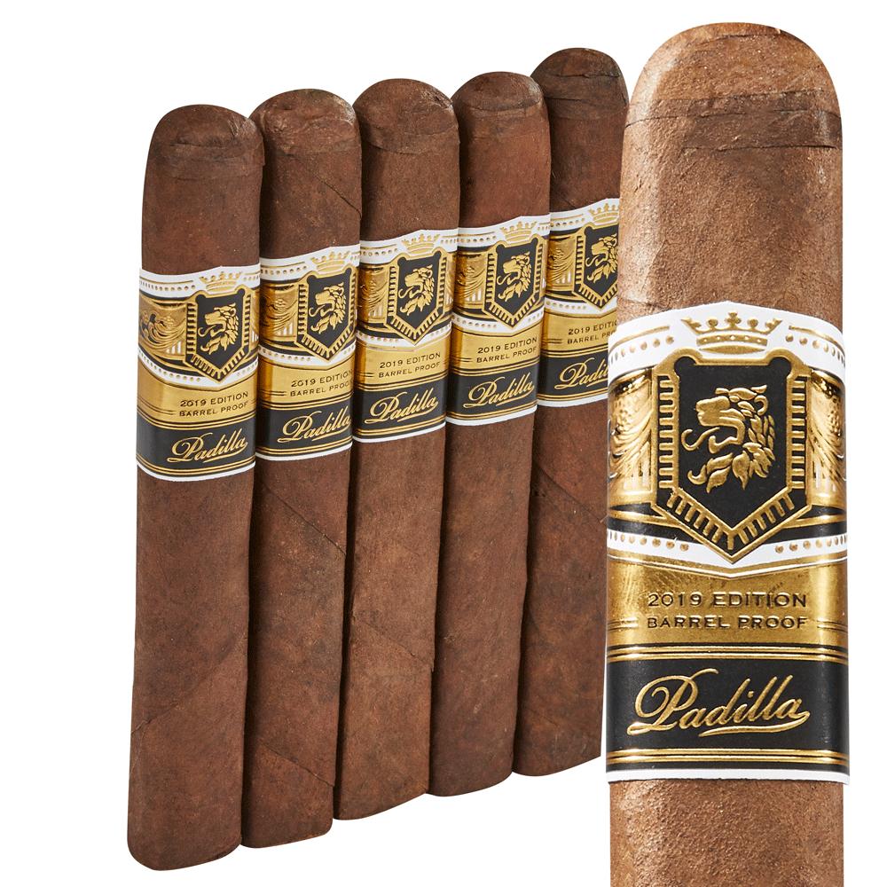 Padilla Single Batch - Barrel Proof Robusto - Box of 20 photo - CALIFORNIA SHEETS