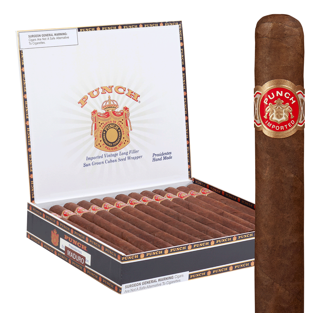 photo of Punch Presidente - BOX (25) by Thompson Cigar