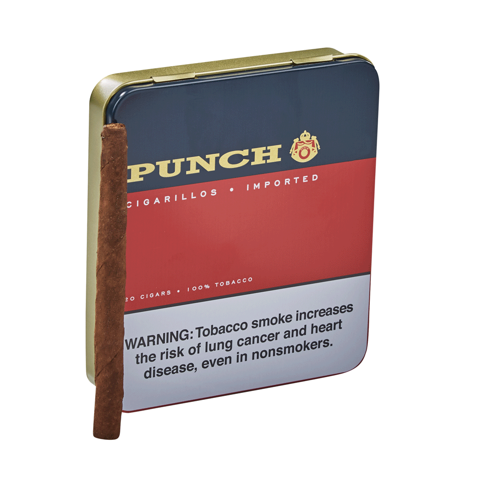 photo of Punch Cigarillos EMS Cigarillo 20 Count - PACK (20) by Thompson Cigar