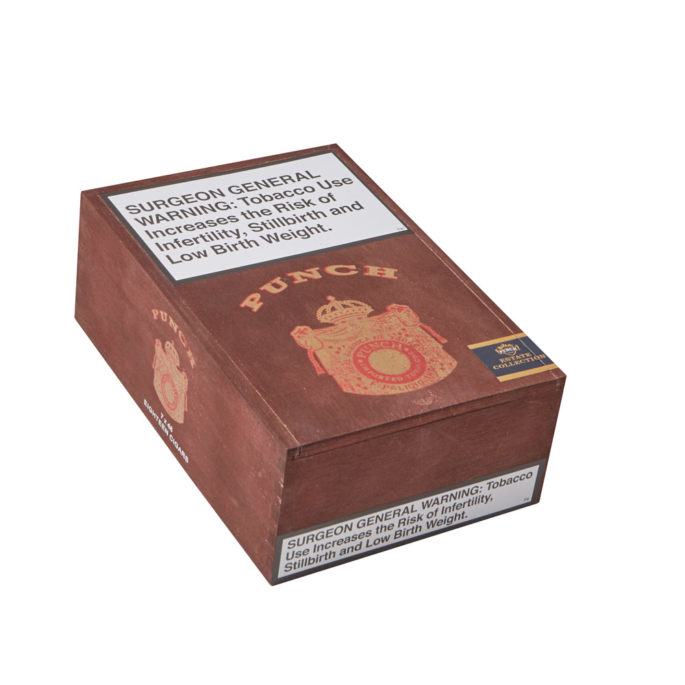photo of Punch Estate Collection Churchill Natural - BOX (18) by Thompson Cigar