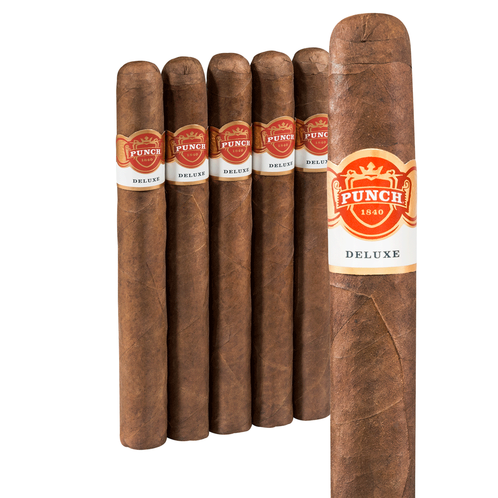 photo of Punch Deluxe Chateau L Churchill Maduro - PACK (5) by Thompson Cigar