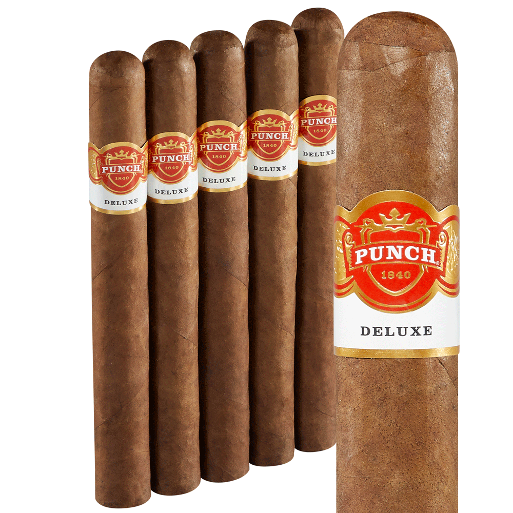 photo of Punch Deluxe Chateau L Churchill Sumatra - PACK (5) by Thompson Cigar