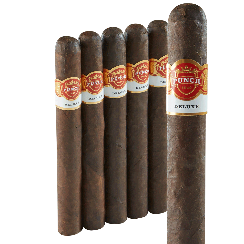 photo of Punch Deluxe Chateau L Churchill Double Maduro - PACK (5) by Thompson Cigar