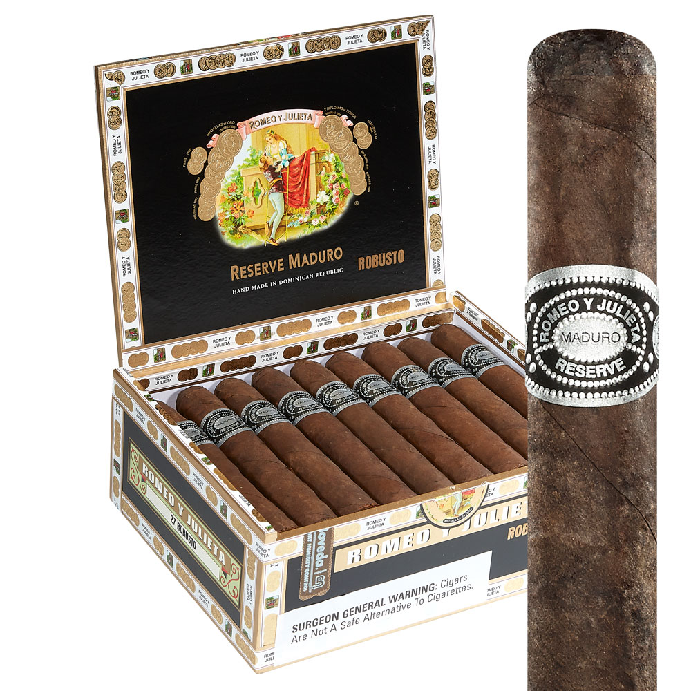 photo of Romeo y Julieta Reserve Maduro Robusto - BOX (27) by Thompson Cigar
