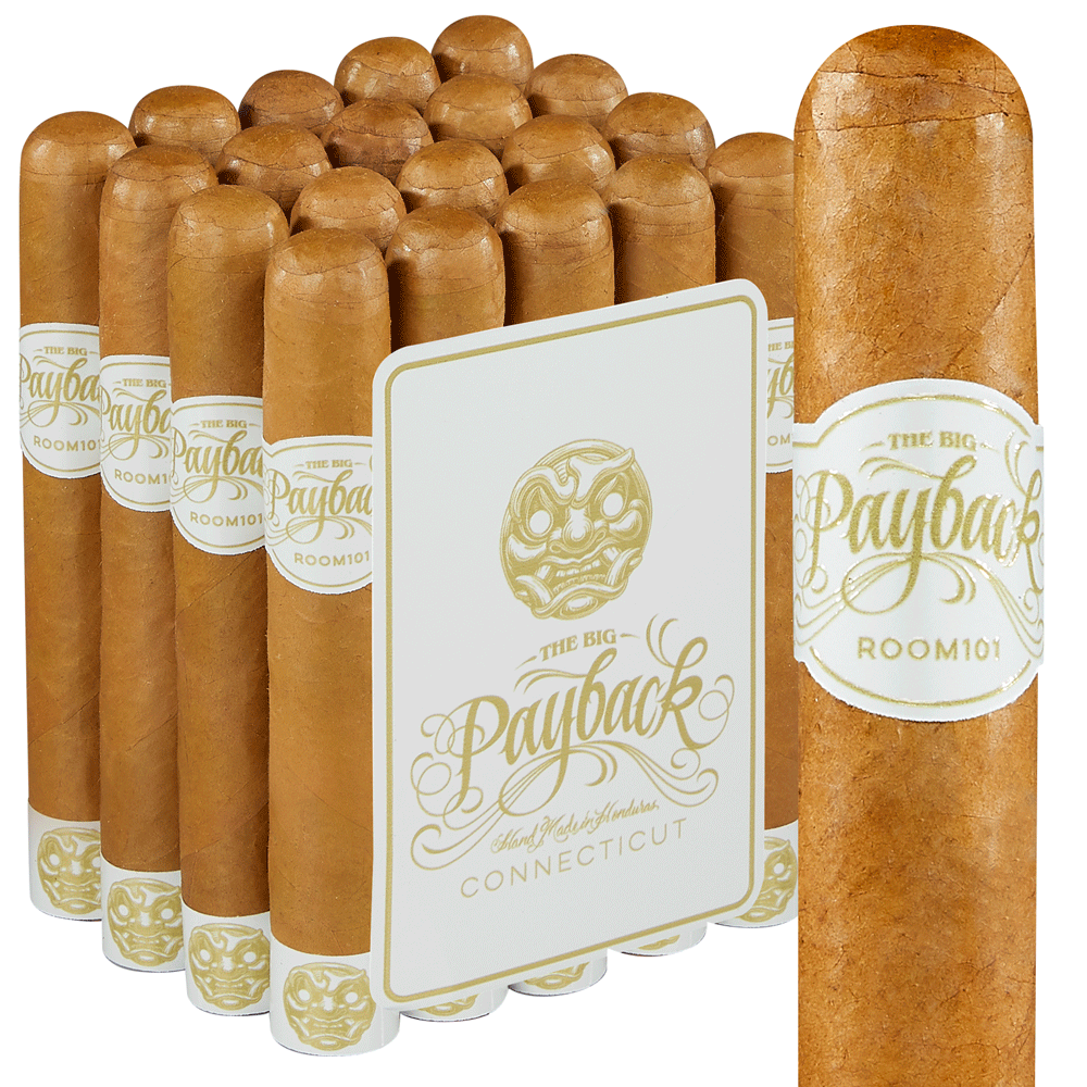 Room 101 Big Payback Connecticut Robusto - Pack of 20 photo - CALIFORNIA SHEETS